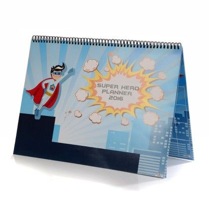 Super Hero  Monthly Planner - Baby Oodles