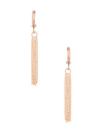 Voylla Yellow Gold Toned Pair Of Earrings With Unique Design