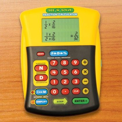 See 'n' Solve Fraction Calculator - Educational Insights