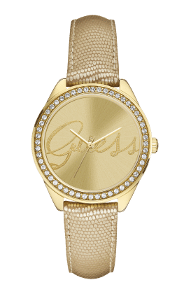 Guess Gold Tone Whisper Watch - Guess Watches