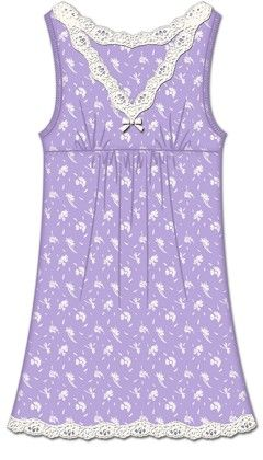 Sweet Sleep Chemise- Purple - Rene Rofe