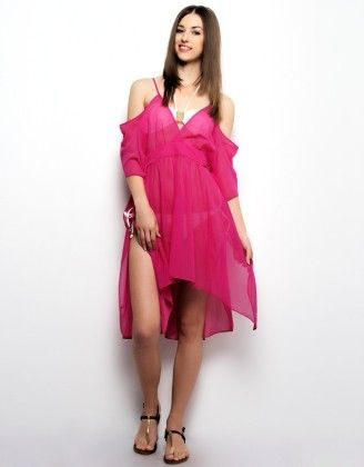 Cold Shoulder Kaftan - XNY