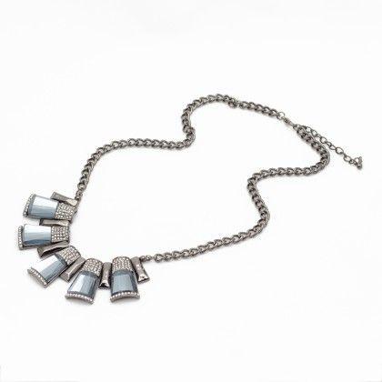 Elite Black Stone Necklace - Trends