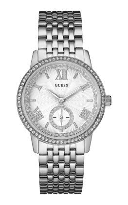 Guess Silver Tone Gramercy Watch - Guess Watches