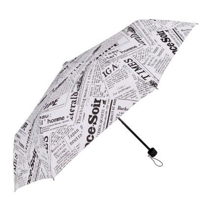 Umbrella (newspaper) White - Total Gift Solutions