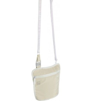 Body Pouch White - Go Travel