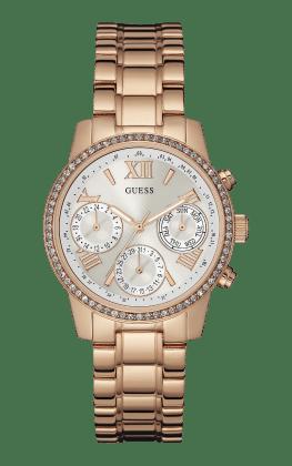 Guess Rose-gold Tone Mini Sunrise Watch - Guess Watches