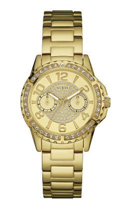 Guess Gold Tone Sassy Watch - Guess Watches
