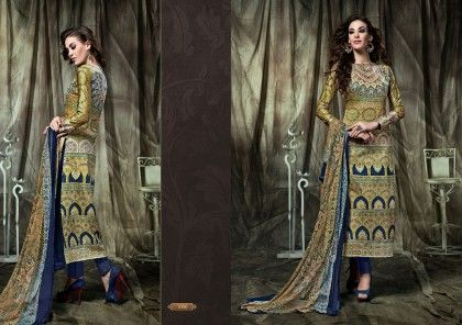 Pakistani Print Dress Material - Fashion Fiesta