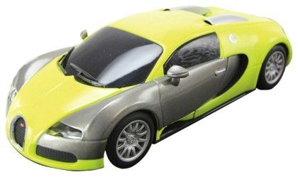 Bugatti Veyron Yellow/silver - SCALEXTRIC