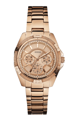 Guess Rose Gold Tone Mini Phantom Watch - Guess Watches