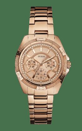 Guess Rose Gold Tone Mini Phantom Watch - Guess Watches