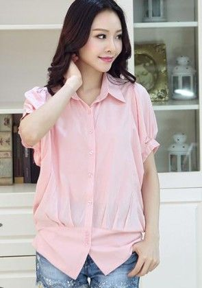 Pink Shirt - Mauve Collection