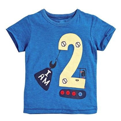 Blue I Am 2 Half Sleeves T-shirt - Lil Mantra