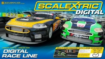 Digital Race Line (digital Set) - SCALEXTRIC