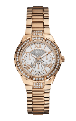 Guess Rose Gold Tone Viva Watch - Guess Watches
