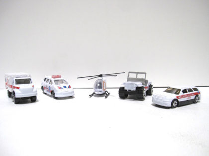 Racing High Speed Ambulance Series(set) - GLOPO