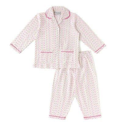 Pink Dot Print Cotton Pyjama Set - De-Nap