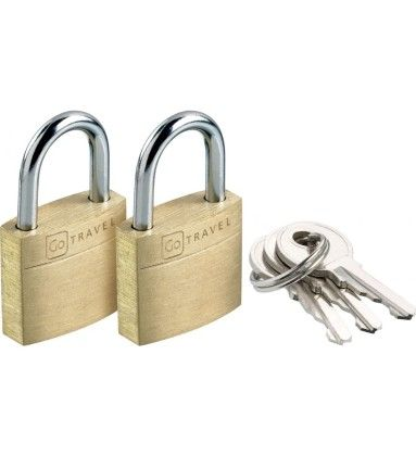 Case Lock Twin Pack - Go Travel