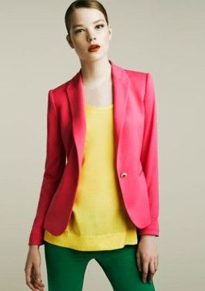 Candy Color Pink Jacket For Gals Pink - Mauve Collection