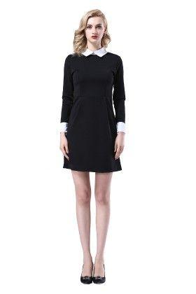 Short Black Dress - Mauve Collection