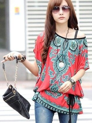 Summer Spring European Red Top - STUPA FASHION