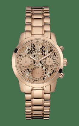Guess Rose Gold Tone Mini Sunrise Watch - Guess Watches