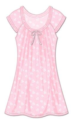 Midnight Dreams Sleepshirt - Light Pink - Rene Rofe