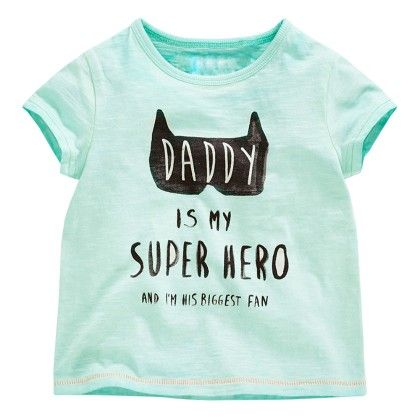 Sky Blue Super Hero Half Sleeves T-shirt - Lil Mantra