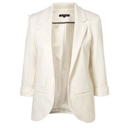 Candy Color Jackets For Women White - Mauve Collection