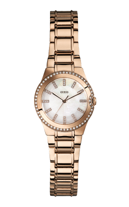 Guess Rose Gold Tone Mini Moonbeam Watch - Guess Watches