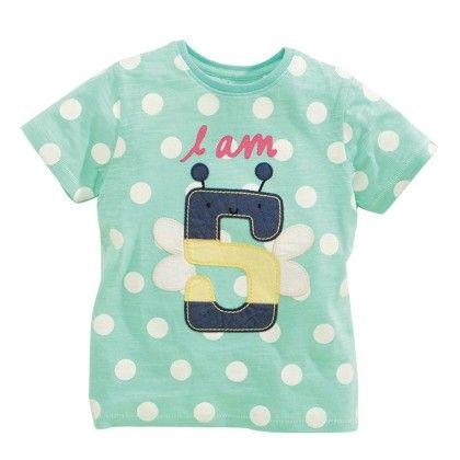 Blue I Am 5 Half Sleeves T-shirt - Lil Mantra