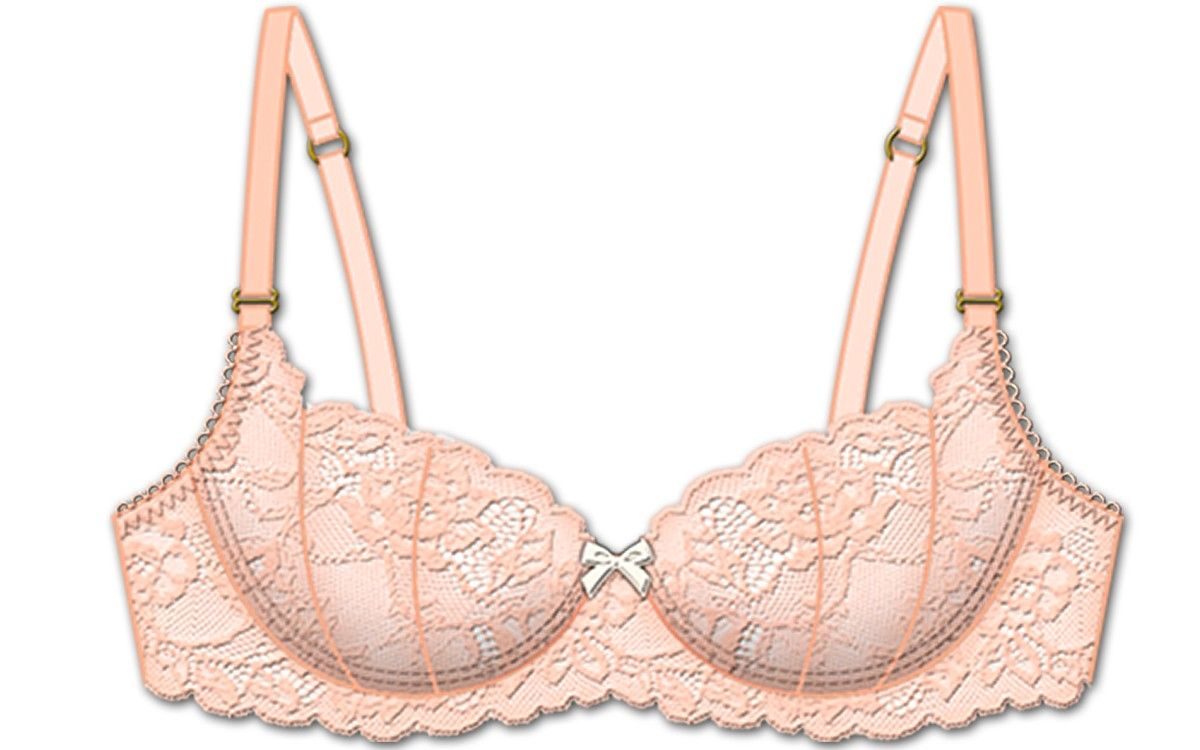 The Betty Unpadded Bra - Peach - Rene Rofe