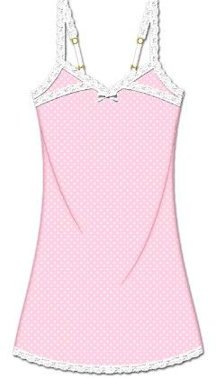 Love That Lace Chemise - Pink - Rene Rofe