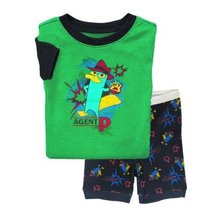 Green Agent Print T-shirt & Set - Lil Mantra