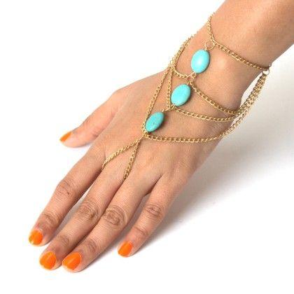 Blue Stone Hand Gear - Jazz Fashions