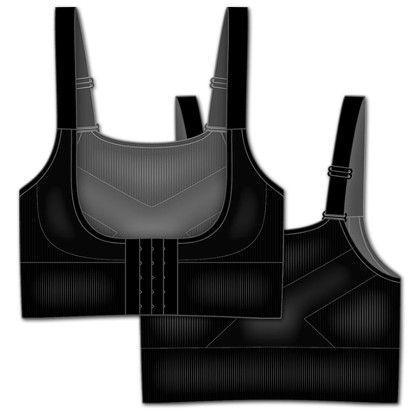 Seamless Bra Enhancer Black - Rene Rofe