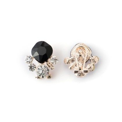 Earing Black And White Stone Studed - Wilfred Jewellery