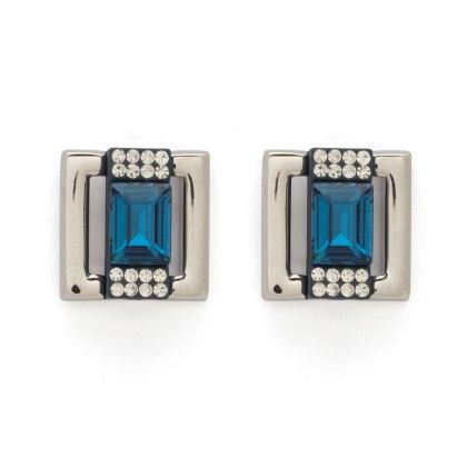 Blue Stoned Stud - Trends