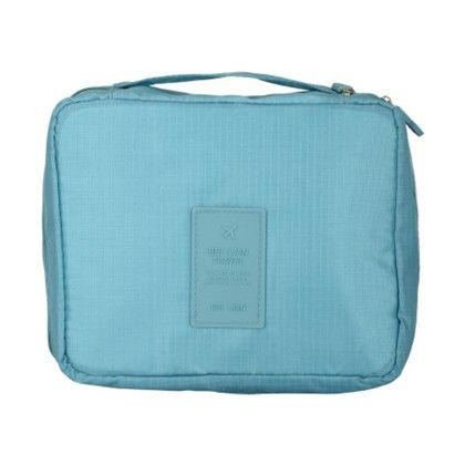 Sky Blue Travel Pouch - Organization Collection