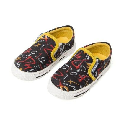 Canvas Slip On Shoes - Seven Rainbows