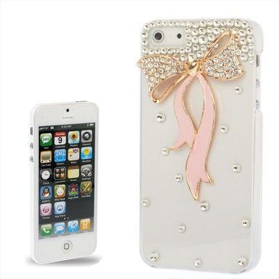 Bows Mobile Cover White - Oomph