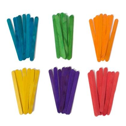 Colourful Icecream Craft Sticks - Diya