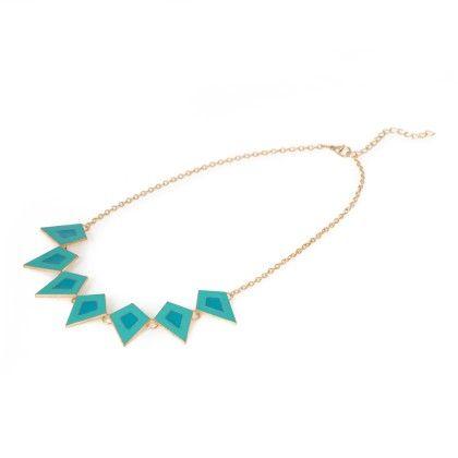 Blue Stone Neckpiece - Jazz Fashions