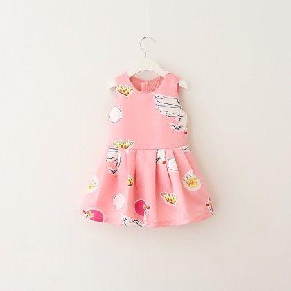 Grafic Design Limited Edition Dress - Petite Kids
