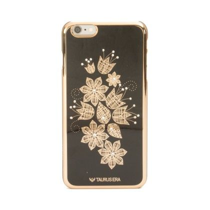 Floral Touch Black Iphone 6 Plus-iphone 6s Plus Phone Cover - Mobo Art