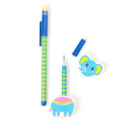 Animal Pencil With Eraser - Blue - It's All About Me