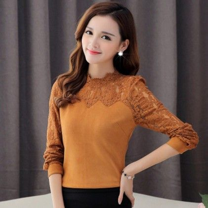 Fashion Casual Long Sleeve Tan - STUPA FASHION