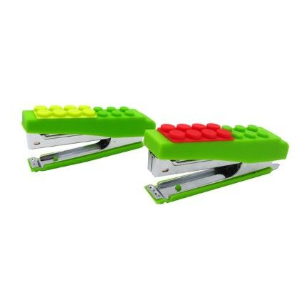 Block Silicone Stapler Assorted 1 Unit - Flintstop