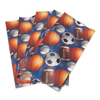 Gift Wrapping Sheets - Foot Ball - It's All About Me